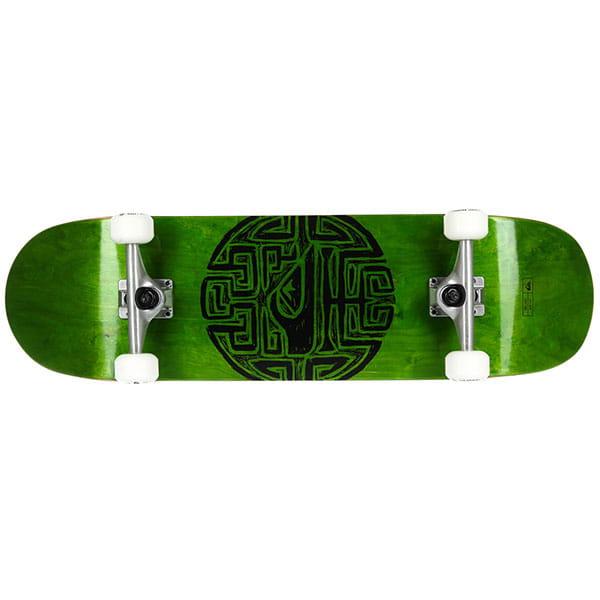 Скейтборд в сборе QUIKSILVER Get Lost Green 32.6 x 9 (23 см)