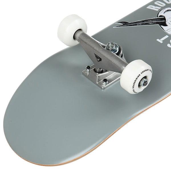 Скейтборд в сборе QUIKSILVER Pirate Grey 31.75 x 7.8 (17.7 см)