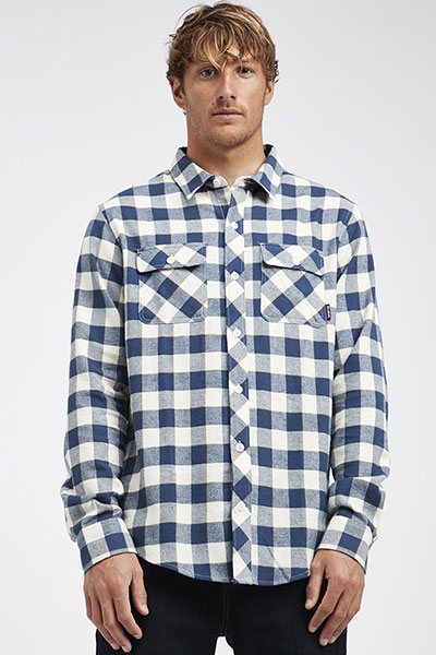 Рубашка в клетку Billabong All Day Flannel Ls Birch