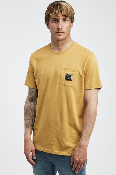Футболка Billabong Stacked Mustard
