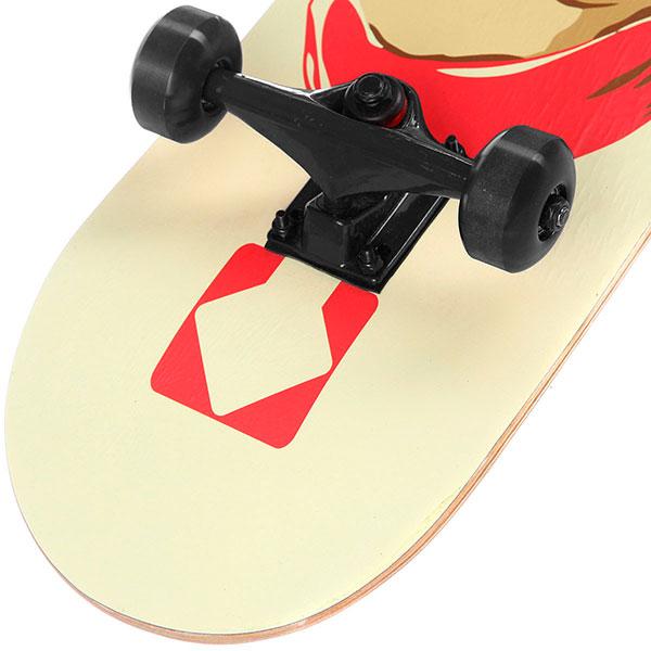 Скейтборд в сборе Turbo-FB Silence Black