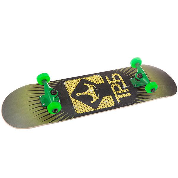 Скейтборд в сборе Turbo-FB Logo Green