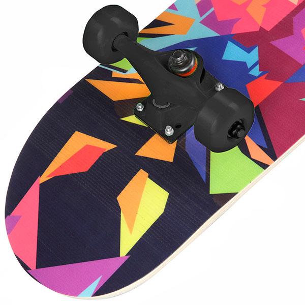 Скейтборд в сборе Turbo-FB Lion Black