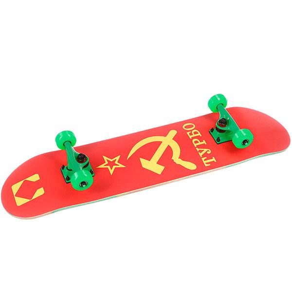 Скейтборд в сборе Turbo-FB Souz Green