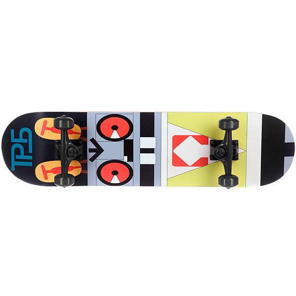 Скейтборд в сборе Turbo-FB Robo-Rabbit Black