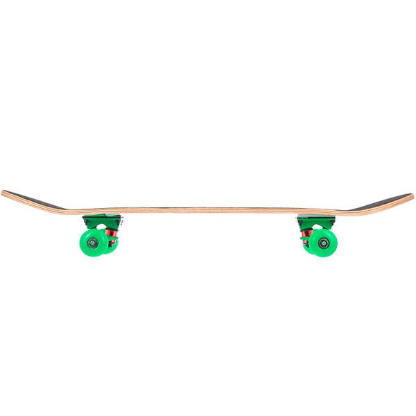 Скейтборд в сборе Turbo-FB ABSTR Green