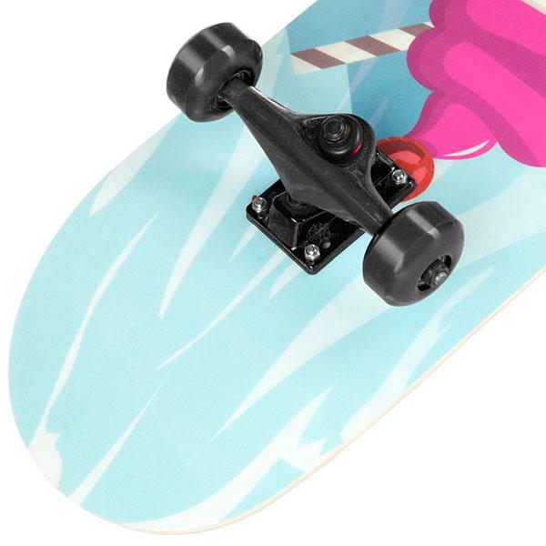 Скейтборд в сборе Turbo-FB Ice Cream Black