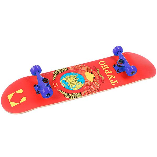Скейтборд в сборе Turbo-FB SSSR Blue