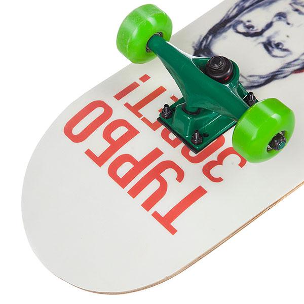 Скейтборд в сборе Turbo-FB Mother Russia Green