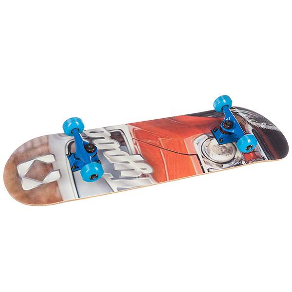 Скейтборд в сборе Turbo-FB Classic Red Blue