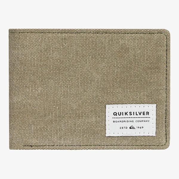 Кошелек QUIKSILVER Slim Vintageiv Wllt Gpz0 Burnt Olive