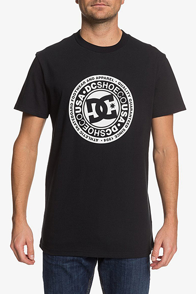 Футболка DC Shoes Circle Star Ss M Tees Xkkw