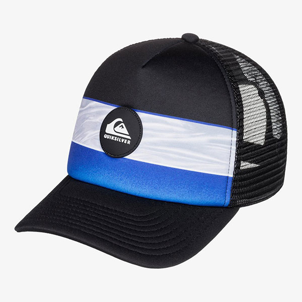 Бейсболка с сеткой QUIKSILVER Tijuana Trucker Dazzling Blue