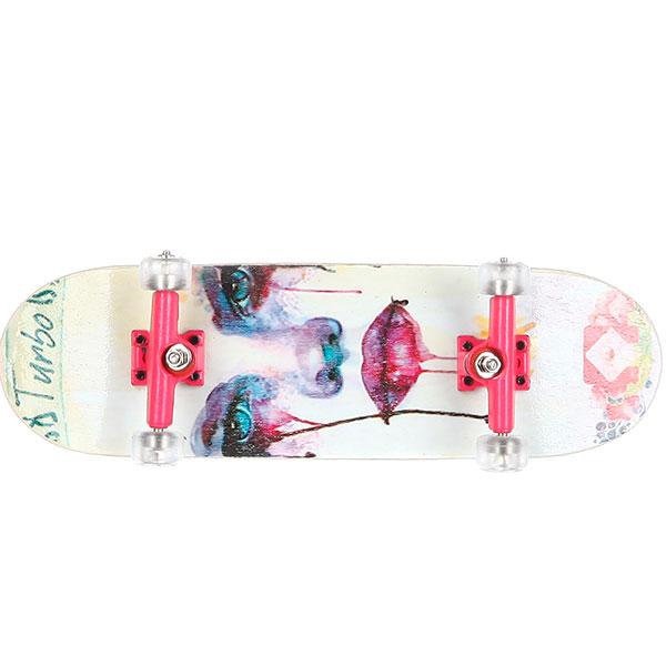 "Фингерборд женский Turbo-FB Girls Edition ""Woman"", розовая подвеска"