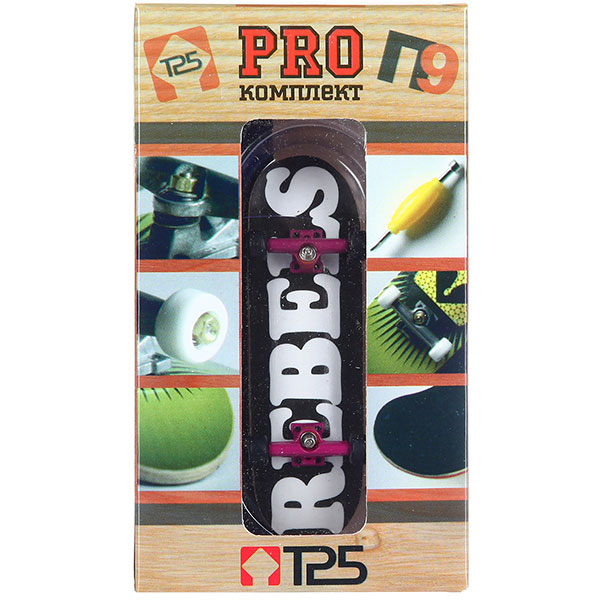 """Фингерборд Turbo-FB комплект PRO П9 """"Rebels"""""""
