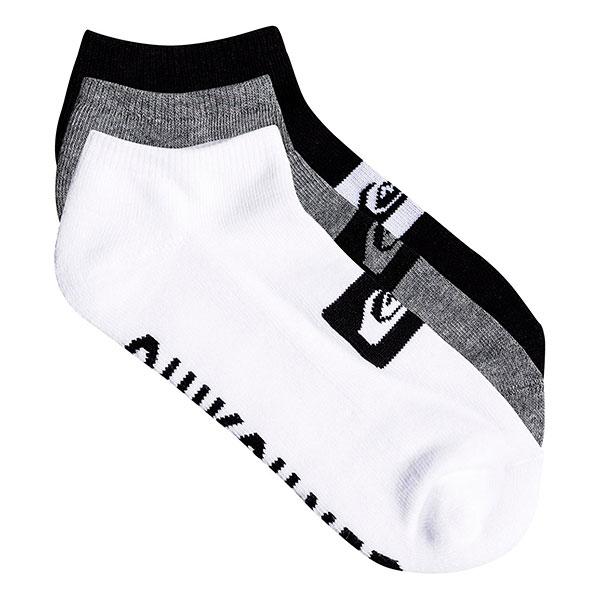 Комплект носков QUIKSILVER Пары/Упаковка) 3ankle Pack M Sock 022