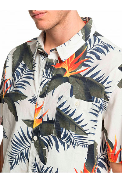 Рубашка QUIKSILVER Poolsiderss M Wvtp Wbk6
