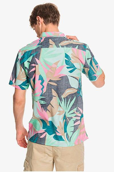 Рубашка QUIKSILVER Tropicflowss M Wvtp Gcz6