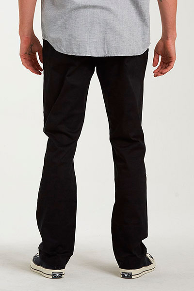 Штаны прямые Billabong Carter Stretch Chino Black-22