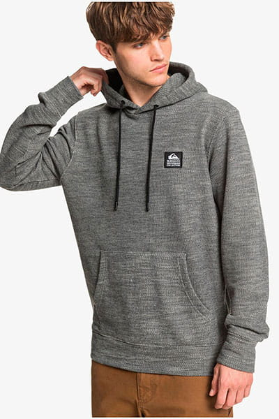 Свитшот QUIKSILVER Swellhunterhood Raven Heather