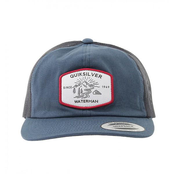 Бейсболка с сеткой QUIKSILVER Latitudes Truck Estate Blue