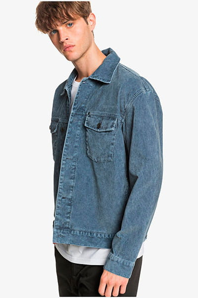 Куртка джинсовая QUIKSILVER Petrolinajacket Blue Nights