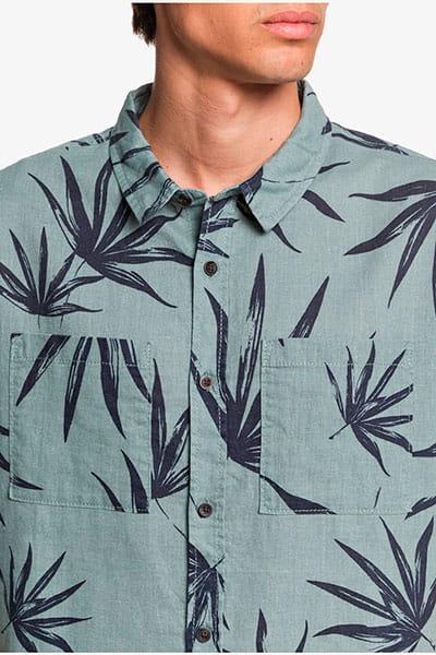 Рубашка QUIKSILVER Gkb6 Chinois Green Deli P