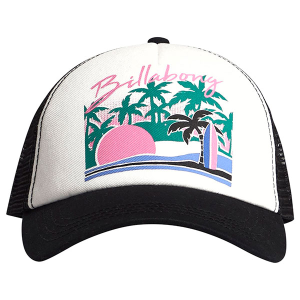 Бейсболка Billabong Aloha Forever Black/Pink