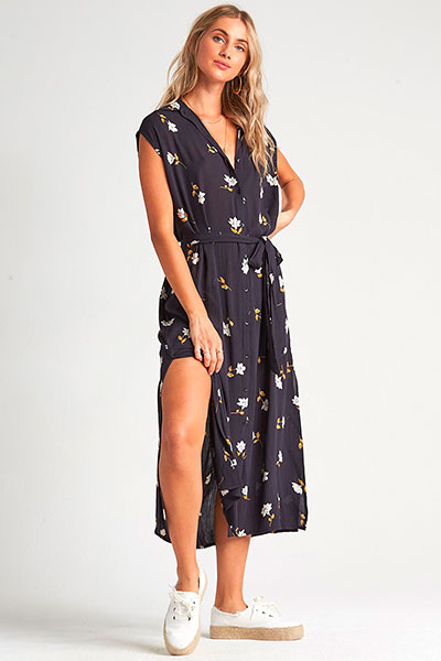 Платье Billabong Little Flirt Black Floral