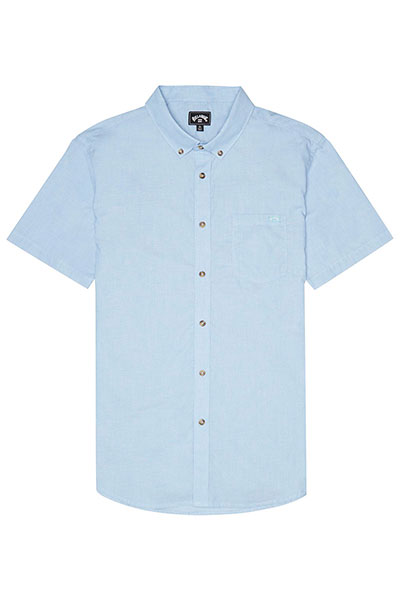 Рубашка в клетку Billabong All Day Light Blue