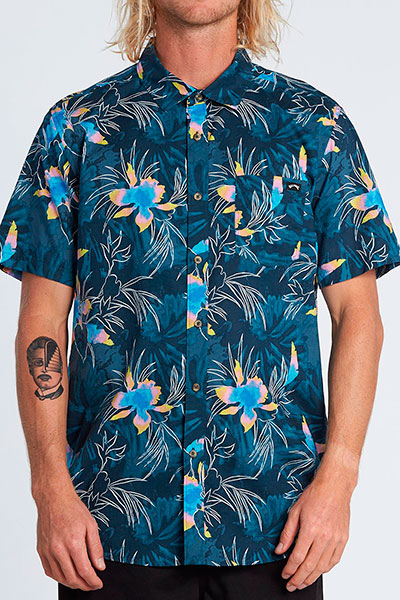 Рубашка Billabong Sundays Floral Ss Navy