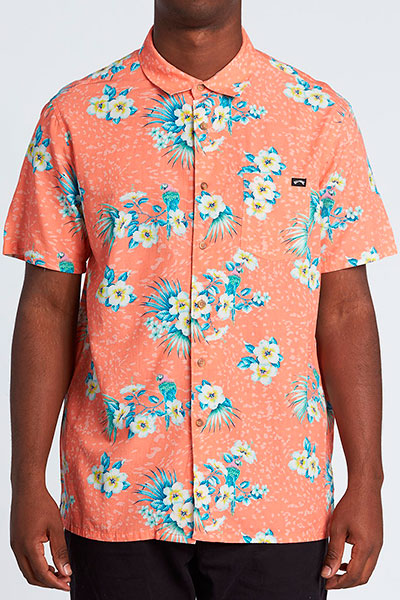 Рубашка Billabong Sundays Floral Ss Coral