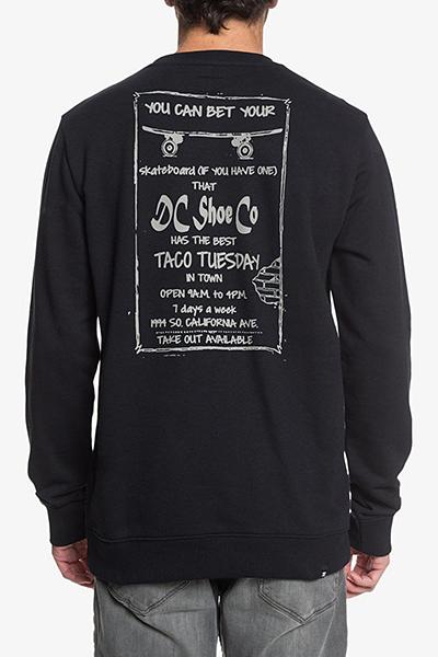 Джемпер DC Shoes Taco Tuesday Cr Kvj0 Black