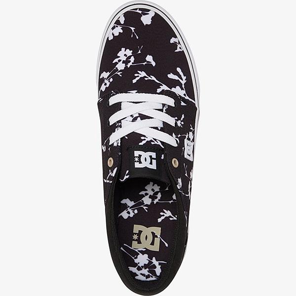 Кеды DC Shoes Trase Sp M Shoe Bwp Black White Print