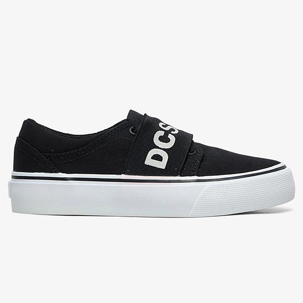 Кеды детские DC Shoes Trase Tx Sp B Shoe Bkw Black White
