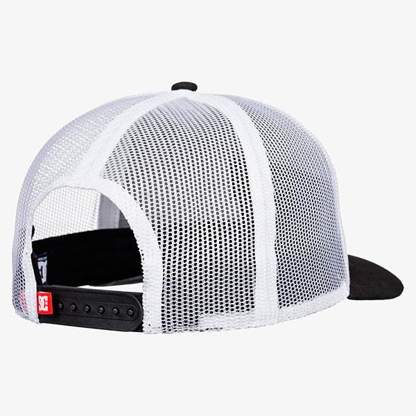 Бейсболка DC Shoes Wes Trucker Black Hats
