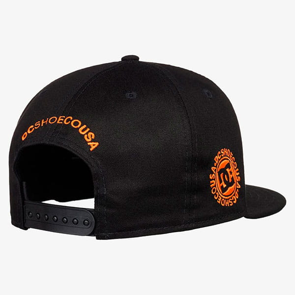 Бейсболка DC Shoes Kalis Hats Black