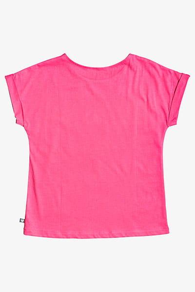 Футболка детская Roxy Teeniefriend B G Tees Mlb0 Pink Flambe