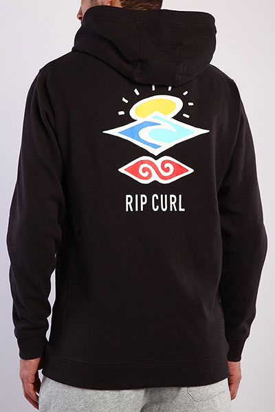 Толстовка Rip Curl М Search Icon Hood 8264 Washed Black M