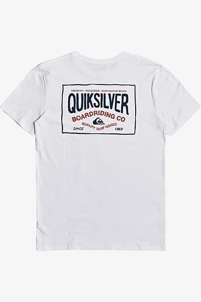 Футболка QUIKSILVER Cloudcornerss White