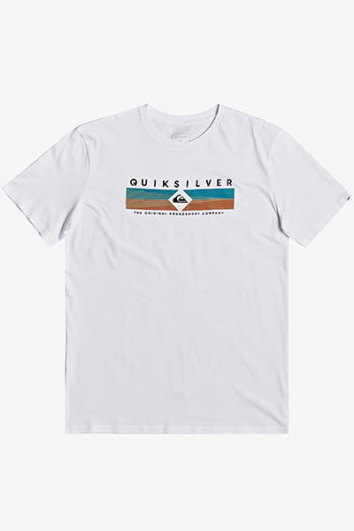 Футболка QUIKSILVER Distantfortune White
