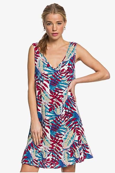 Платье женское Roxy Down Get Snow White Paradise