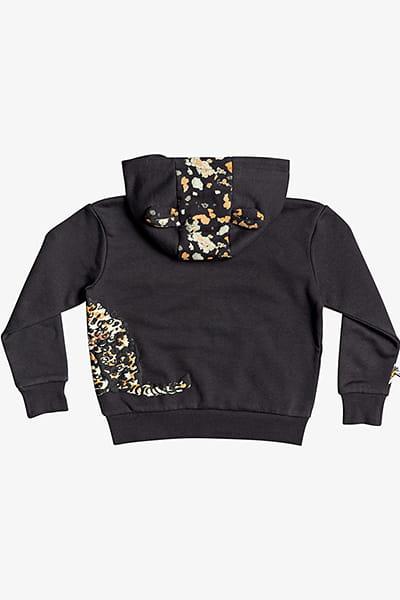 Куртка детская QUIKSILVER С Капюшоном На Молнии Shefetchzip Boy Otlr Tarmac