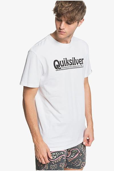 Футболка QUIKSILVER Newslangss M Tees Wbb0 White
