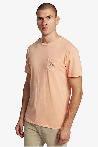 Футболка QUIKSILVER Submissionss M Tees Ngj0 Coral Sands