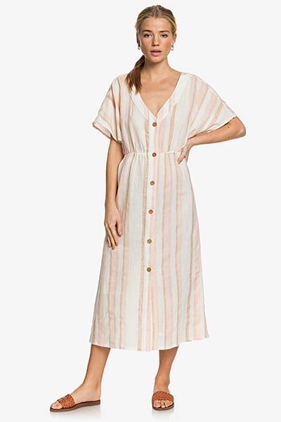 Платье женское Roxy Wvdr Tfm3 Ivory Cream Nam Nam