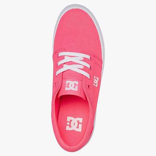 Кеды женские DC Shoes Trase Pltfrm Tx J Shoe 674 Hot Pink