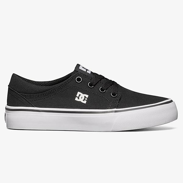 Кеды детские DC Shoes Trase Tx B Shoe Bkw Black/White