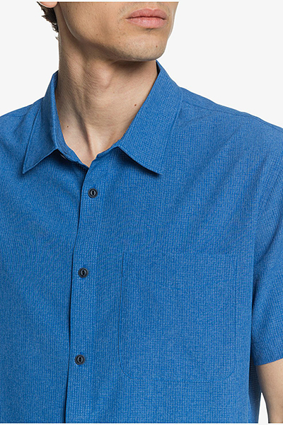 Рубашка QUIKSILVER Techtidesshirt M Wvtp Brl0 Classic Blue