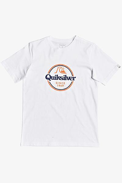 Футболка детская QUIKSILVER Wordsremainyii B Tees Wbb0 White 16